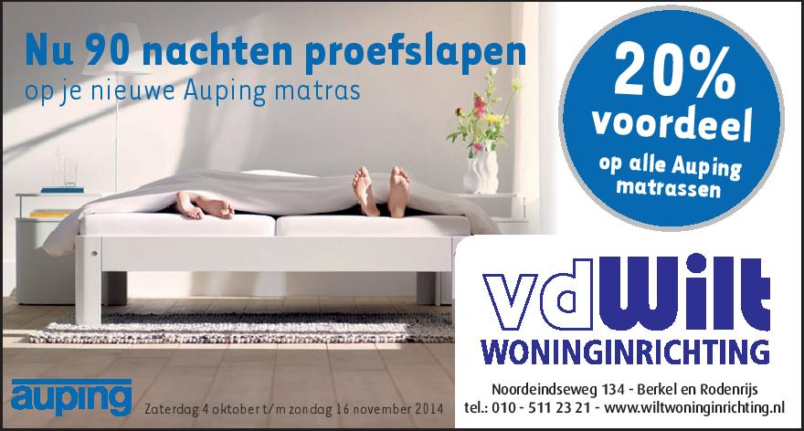 advertentie auping proefslapen 4-10-14